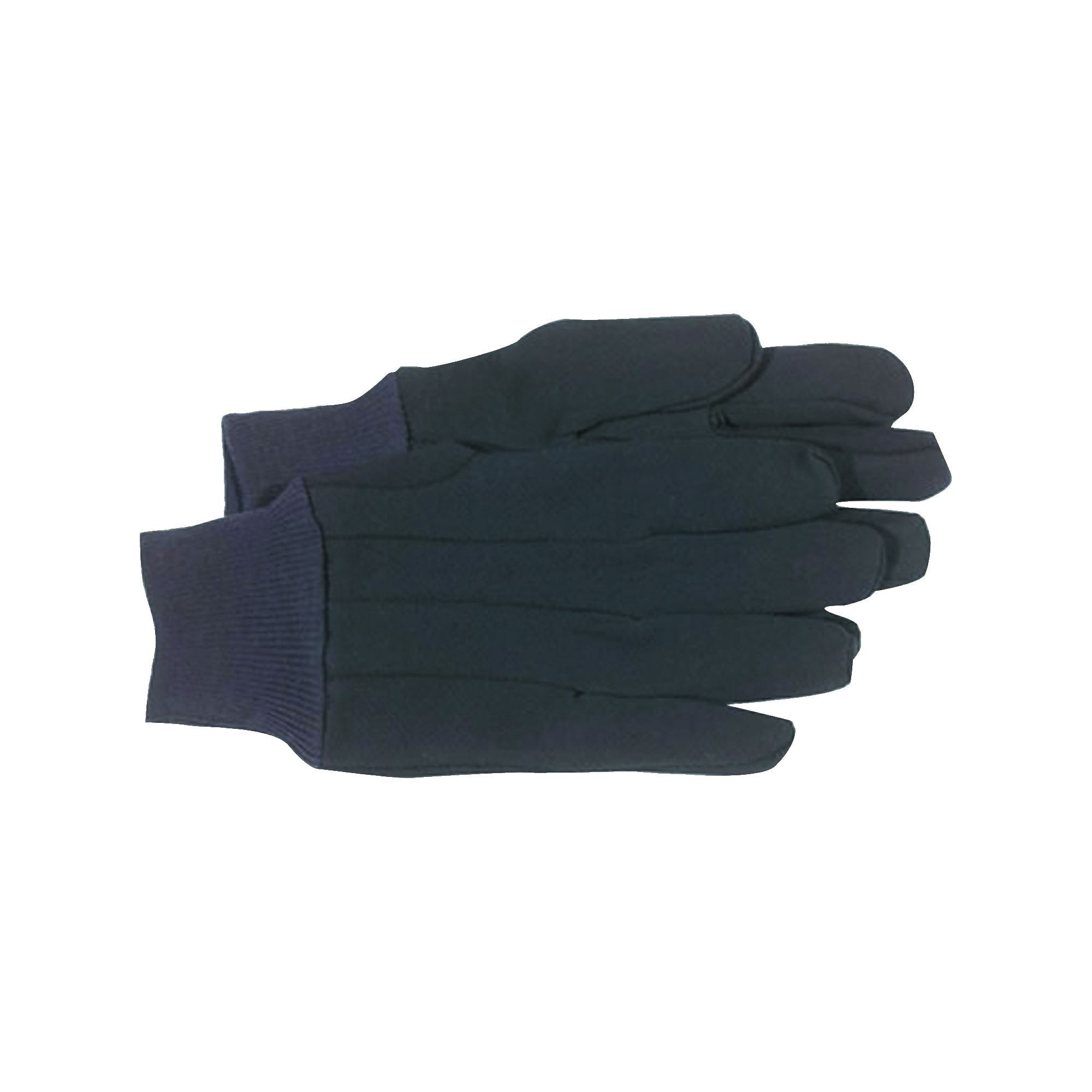 Picture of BOSS KIT Classic Protective Gloves, Women's, L, Straight Thumb, Knit Wrist Cuff, Jersey, Brown