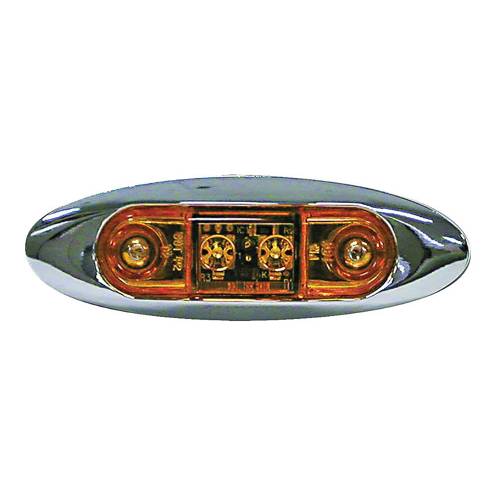 Picture of PM V168XA LED Light, 9/16 V, 2 -Lamp, LED Lamp, Amber Lamp