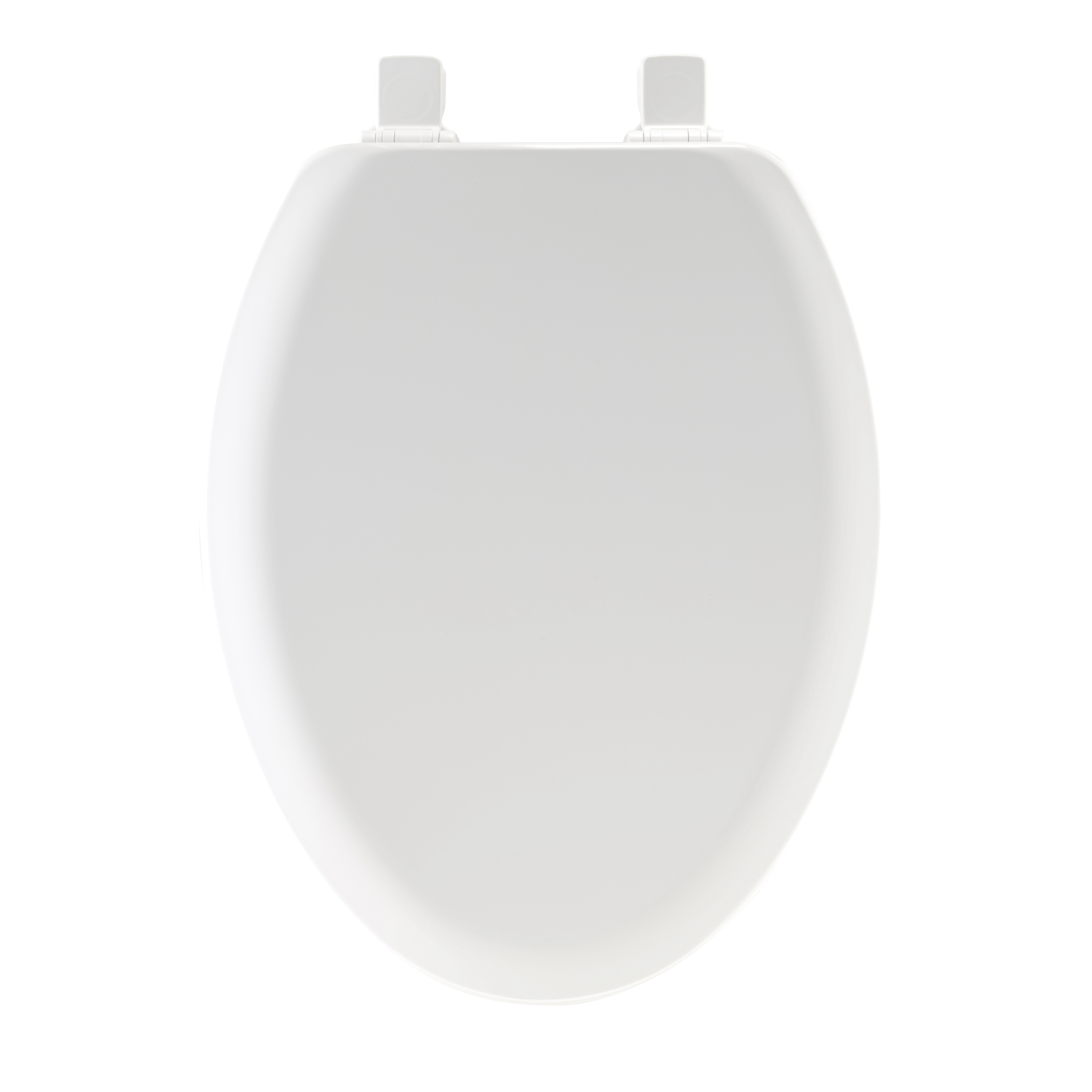 Picture of Mayfair 141EC-000 Toilet Seat, Elongated, Wood, White, Twist Hinge