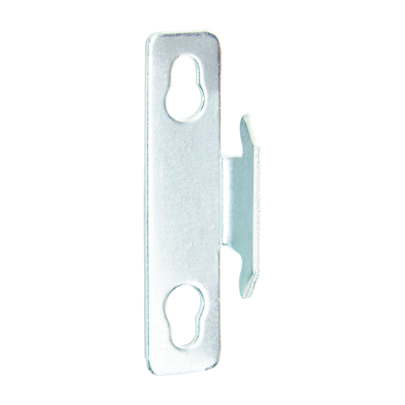 Picture of Kenney KN851 Curtain Rod Bracket, Single, Zinc, Silver, Nail Mounting, 2