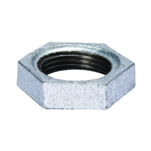 Picture of B & K 510-903HC Locknut, Malleable, 1/2 in Thread, Iron, Galvanized