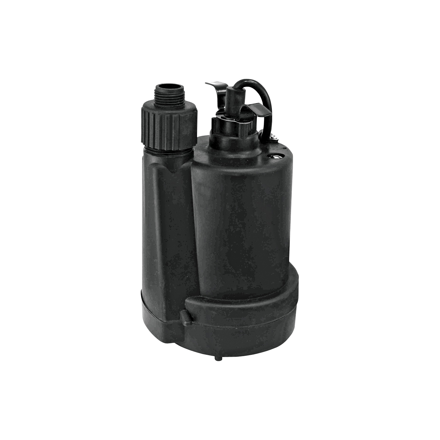 Picture of SUPERIOR PUMP 91250 Utility Pump, 3.8 A, 120 V, 0.25 hp, 1-1/4 in Outlet, 30 gpm, Thermoplastic Impeller