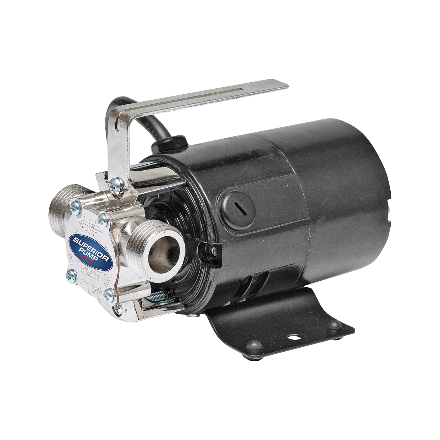 Picture of SUPERIOR PUMP 90040 Transfer Pump, 2.3 A, 115 V, 0.1 hp, 3/4 in Outlet, 330 gpm, Iron