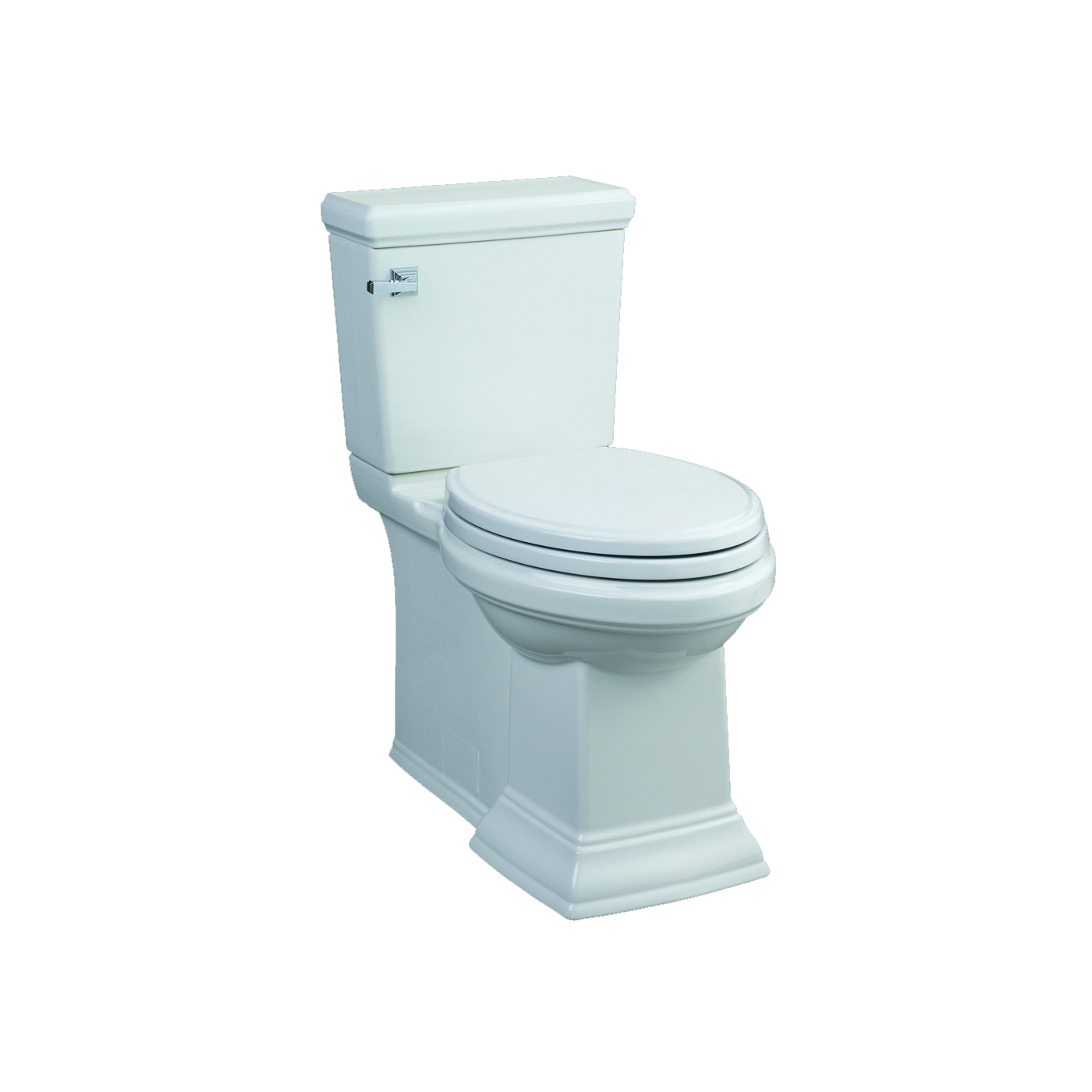 Picture of American Standard Town Square 4216228.020 Toilet Tank, 1.28 gpf Flush, 12 in Rough-In, Vitreous China, White