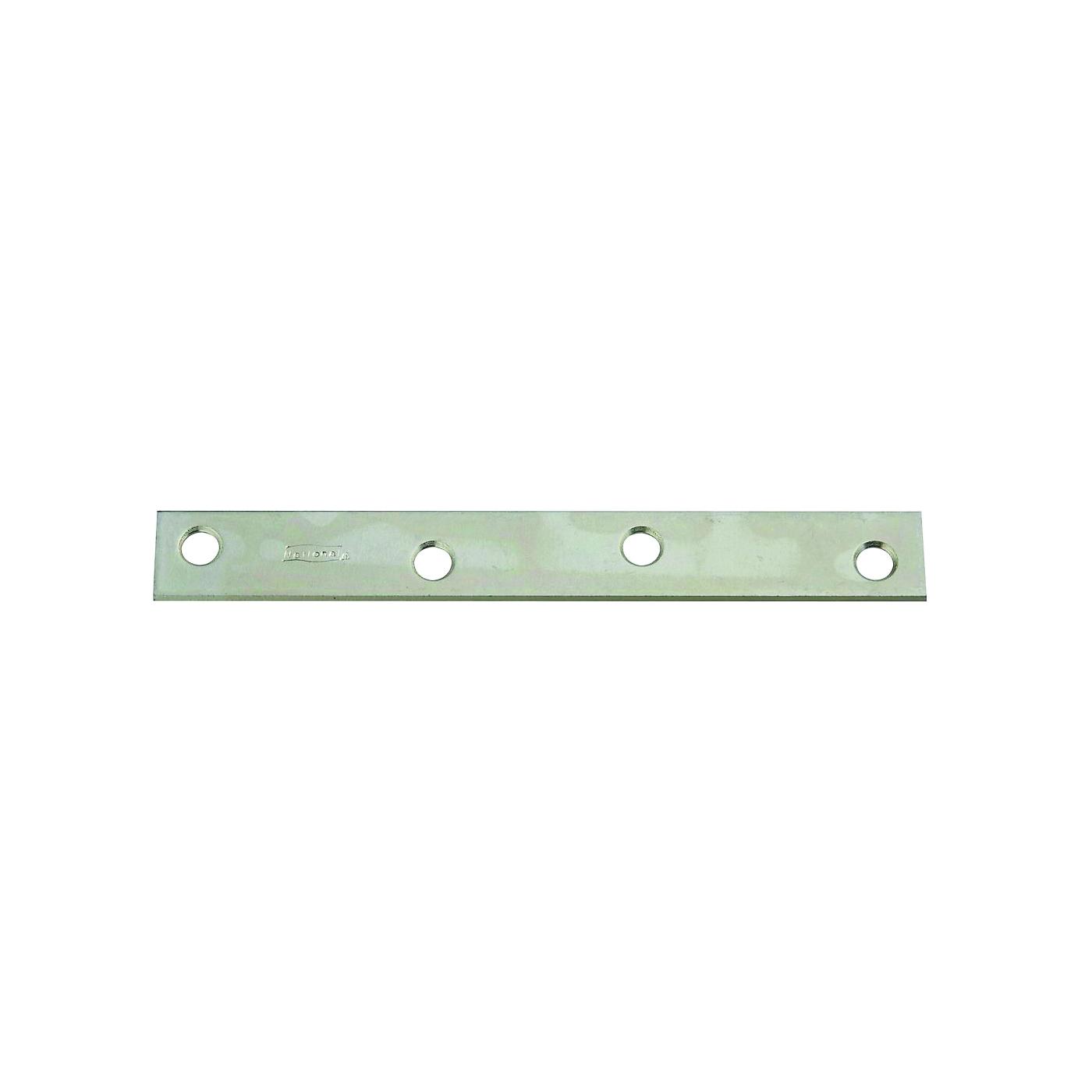 Picture of National Hardware 220285 Mending Brace, 6 in L, 3/4 in W, Steel, Zinc, Screw Mounting