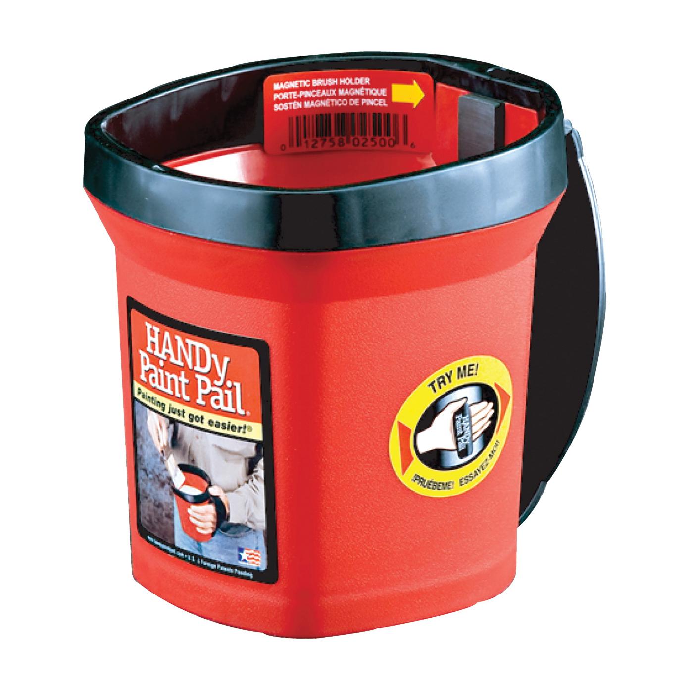 Picture of HANDy BER-2500CT Handy Paint Pail, 1 qt Capacity, Plastic