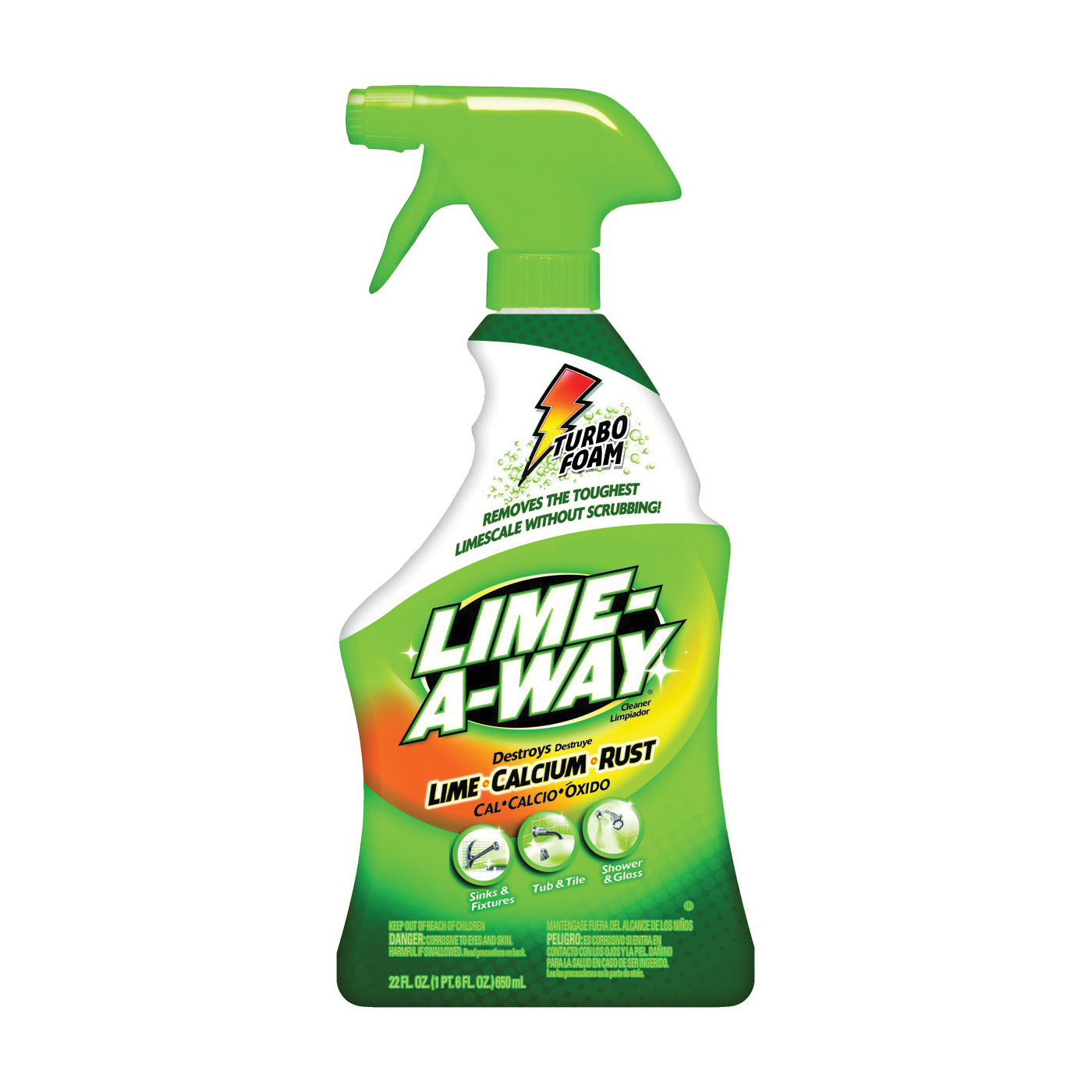 Picture of LIME-A-WAY 5170087103 Stain Remover, 22 oz Package, Bottle, Liquid, Clear