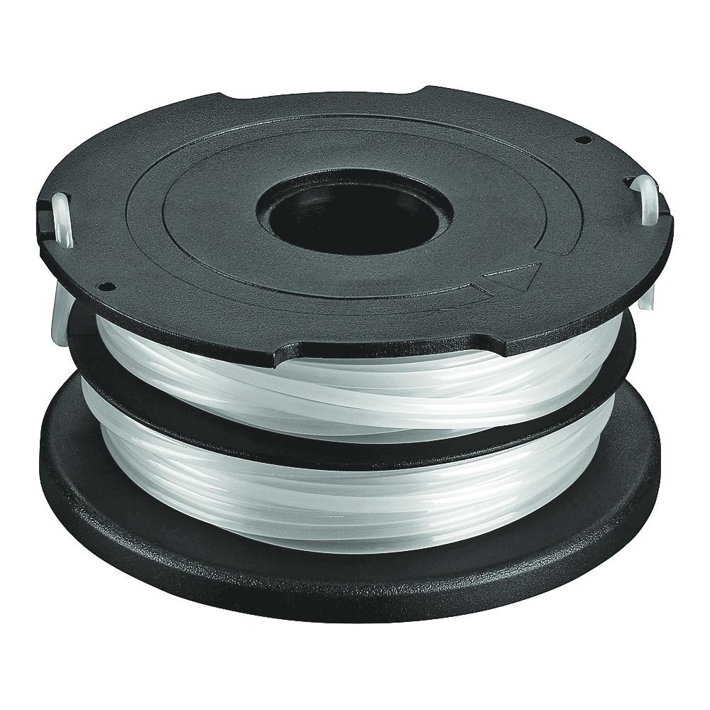 Picture of Black+Decker DF-065 Dual-Line Spool, 0.065 in Dia, 40 ft L, White