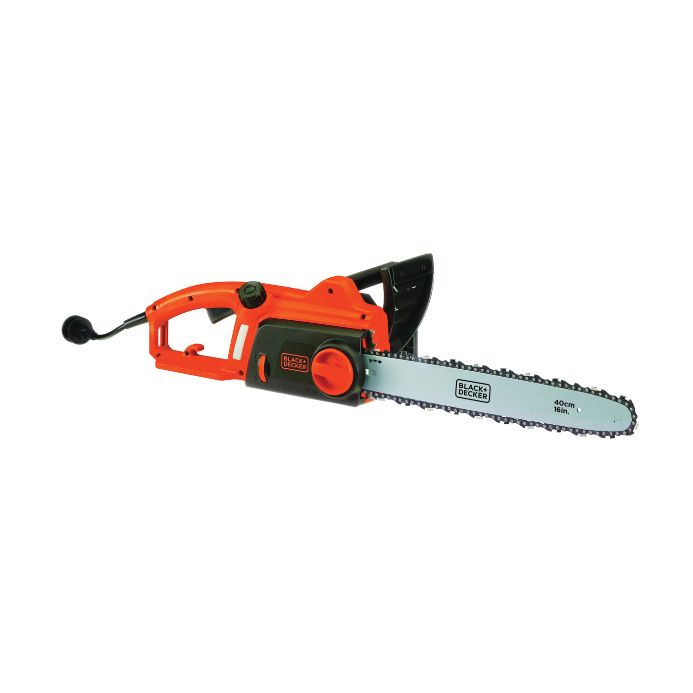 Picture of Black+Decker CS1216 Electric Chainsaw, 12 A, 120 V, 16 in L Bar/Chain