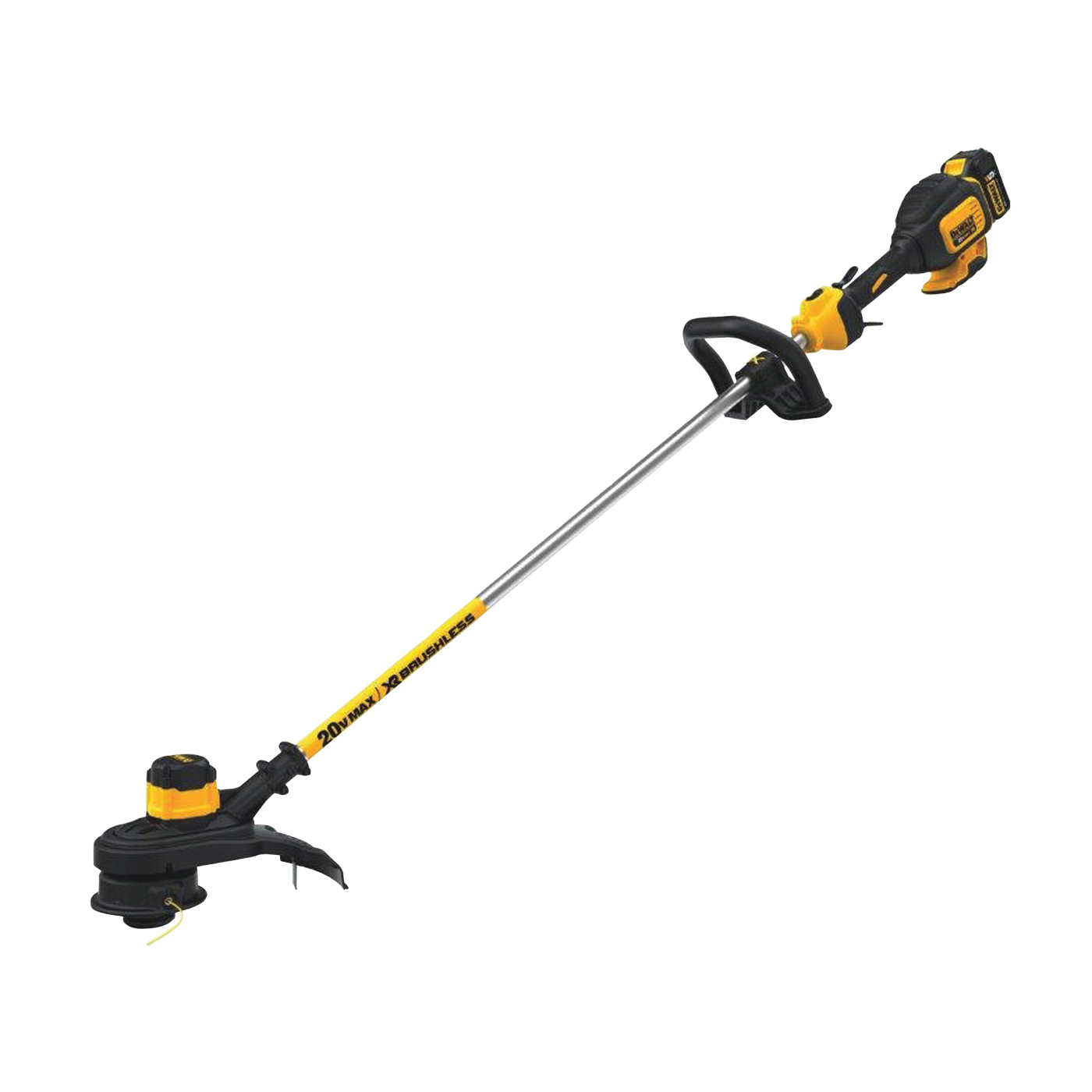 Picture of Black+Decker DCST920P1 String Trimmer, 20 V, 100 W, 48 in L Shaft