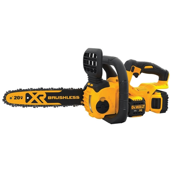 Picture of DeWALT DCCS620P1 Chainsaw Kit, 5 Ah, 20 V Battery, Lithium-Ion Battery, 12 in L Bar/Chain, 3/8 in Bar/Chain Pitch