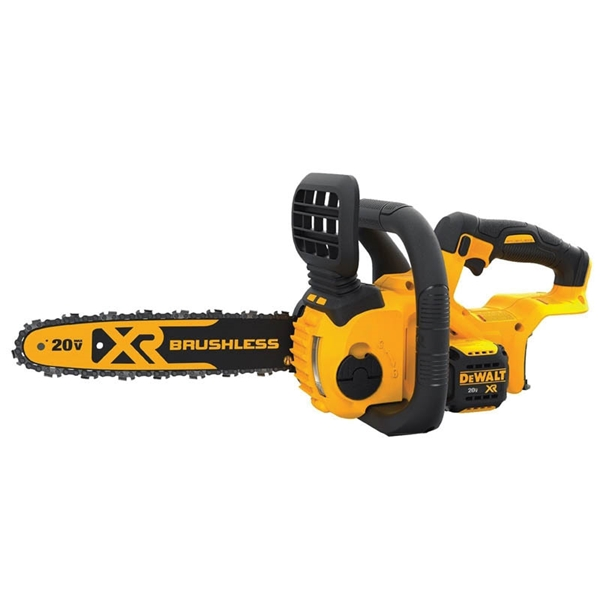 Picture of DeWALT DCCS620B Chainsaw, 5 Ah, 20 V Battery, Lithium-Ion Battery, 12 in L Bar/Chain, 3/8 in Bar/Chain Pitch