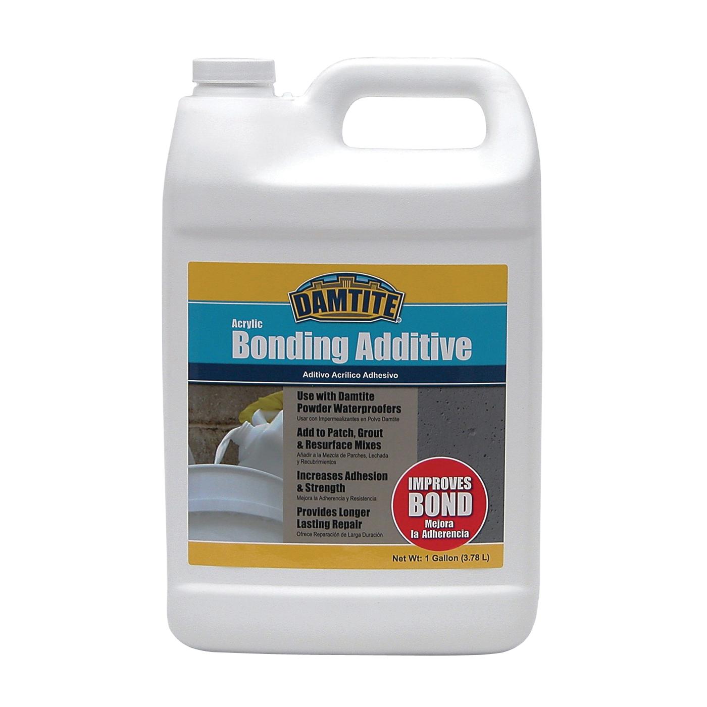 Picture of DAMTITE 05370 Bonding Additive, Liquid, Ammonia, White, 1 gal Package, Bottle
