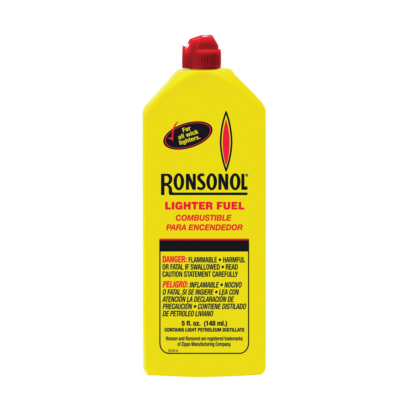 Picture of Ronson 99060 Lighter Fuel, Liquid, Clear, 5 oz Package, Bottle