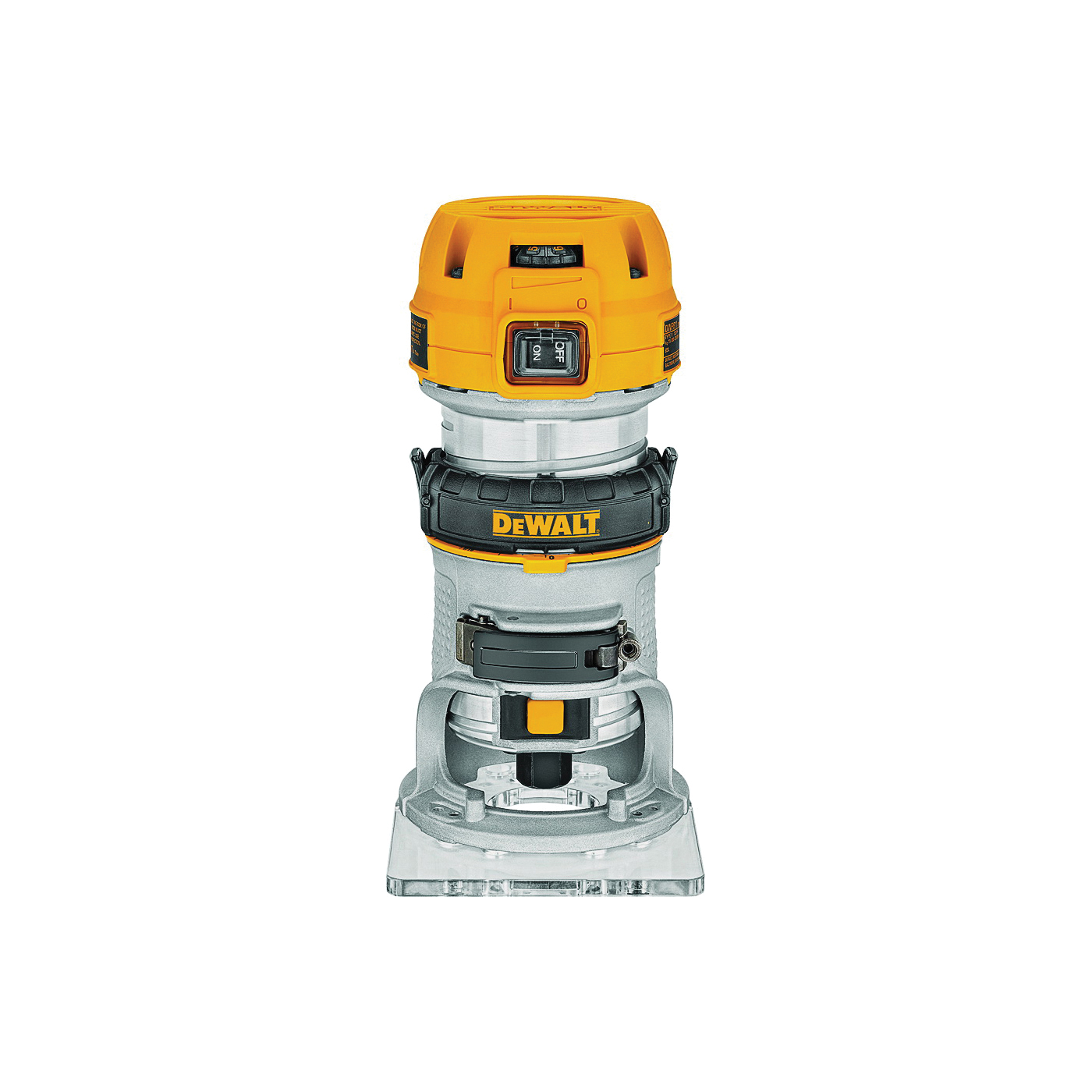Picture of DeWALT DWP611 Compact Router with LED, 120 V, 7 A, 16,000 to 27,000 rpm No Load