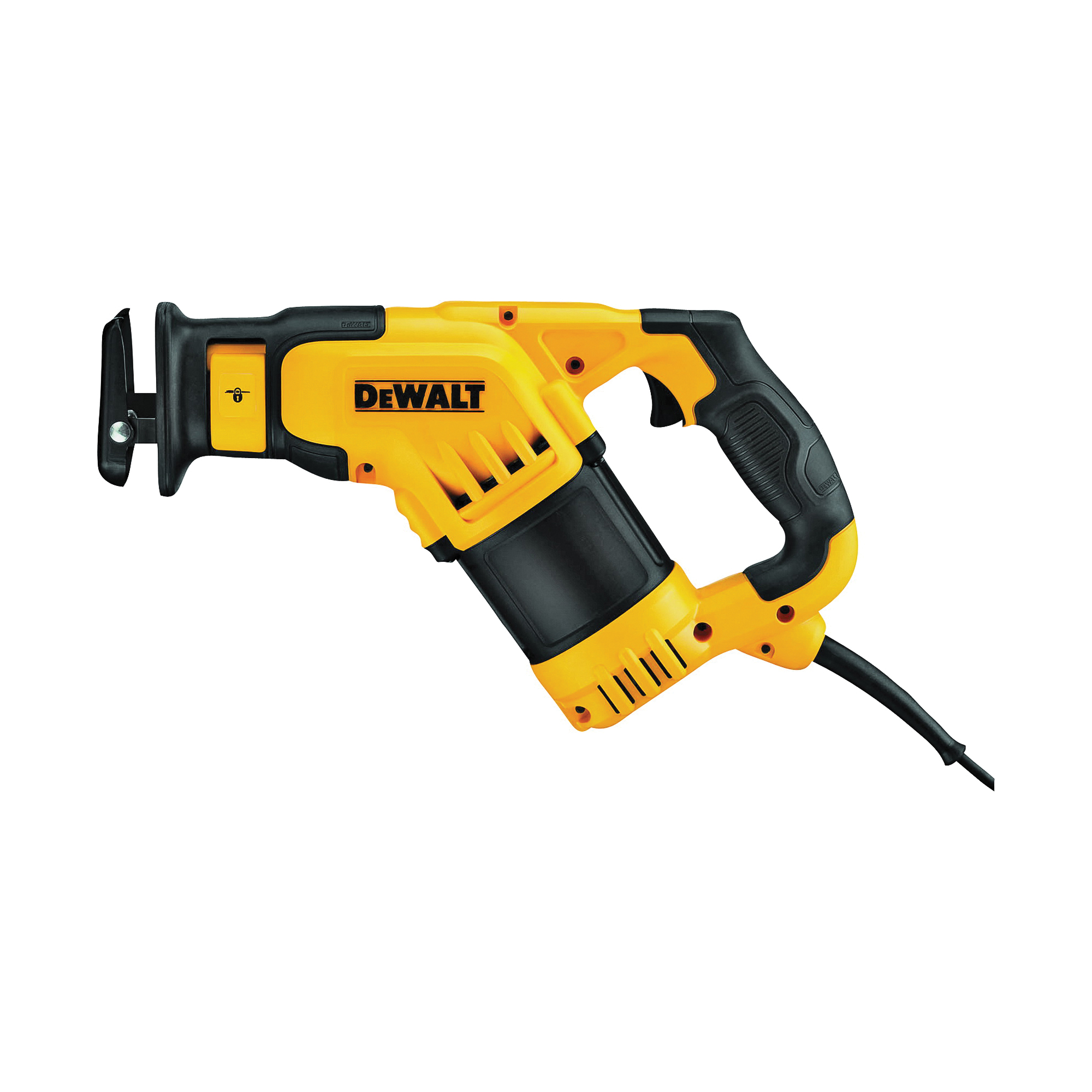 Picture of DeWALT DWE357 Reciprocating Saw, 120 V, 12 A, 1-1/8 in L Stroke, 3000 spm SPM