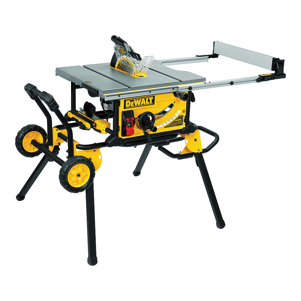 Picture of DeWALT DWE7491RS Table Saw, 120 V, 15 A, 10 in Dia Blade, 5/8 in Arbor, 4800 rpm Speed