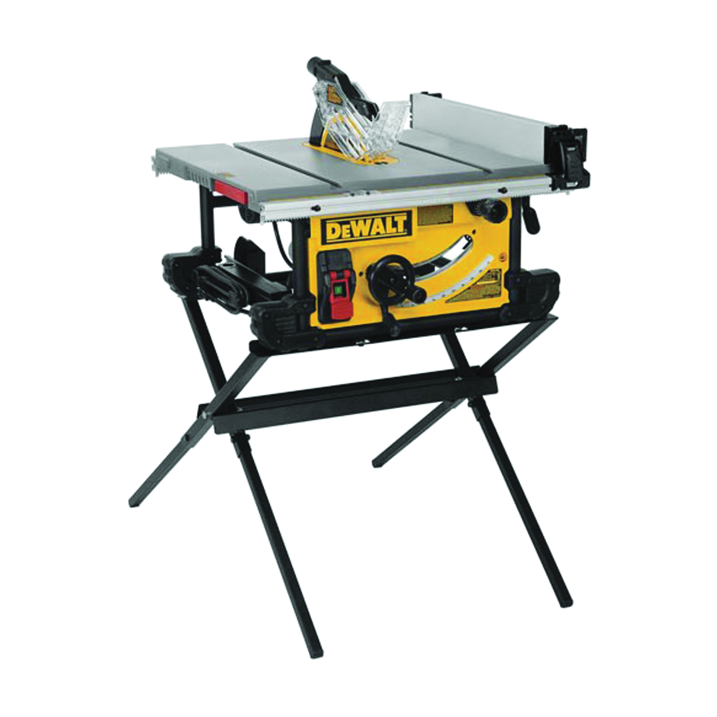 Picture of DeWALT DWE7490X Table Saw, 120 V, 15 A, 10 in Dia Blade, 5/8 in Arbor, 4800 rpm Speed