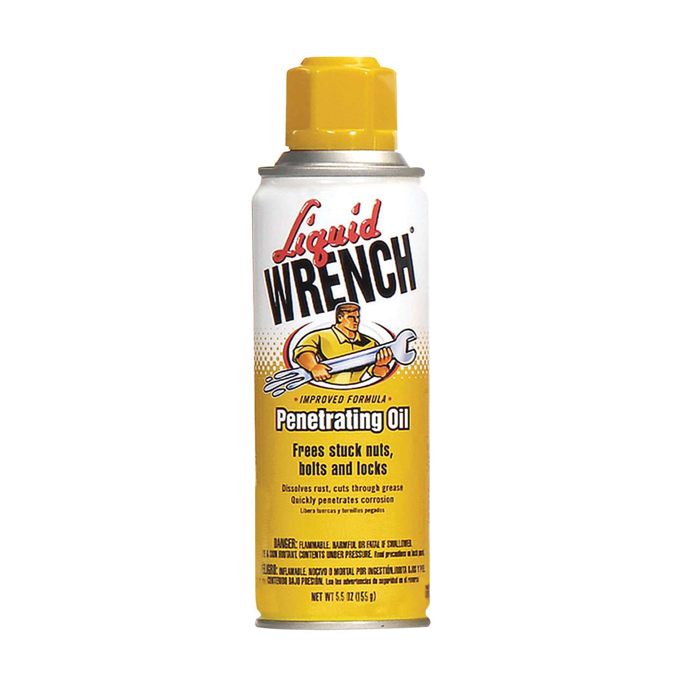 Picture of Liquid WRENCH L106 Penetrating Oil, 6 oz Package, Aerosol Can, Opaque Liquid, Fragrance