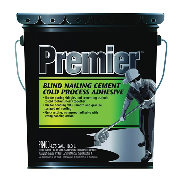 Picture of Henry PR400070 Adhesive Cement, Liquid, Paste, Petrol, Black, 4.75 gal Package