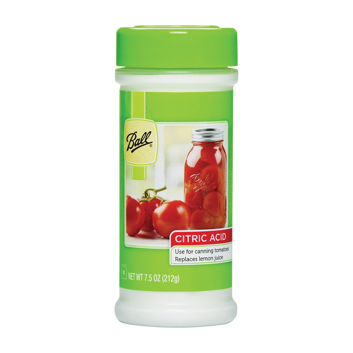 Picture of Ball 55000 Citric Acid, Tomato Flavor, 77 qt Package, Bottle