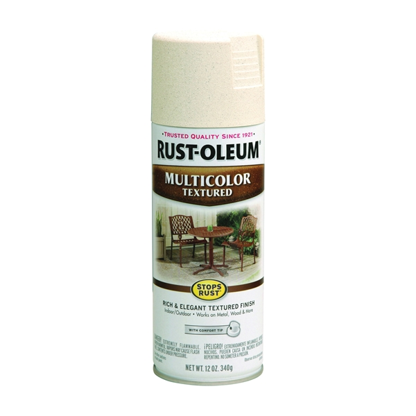 Picture of RUST-OLEUM STOPS RUST 239121 Textured Spray Caribbean Sand, Solvent-Like, Caribbean Sand, 12 oz, Aerosol Can