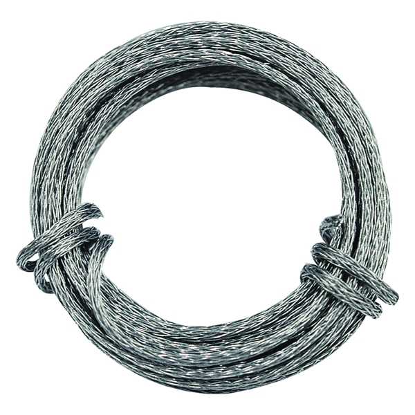 Picture of OOK 50123 Picture Hanging Wire, 9 ft L, Galvanized Steel, 30 lb