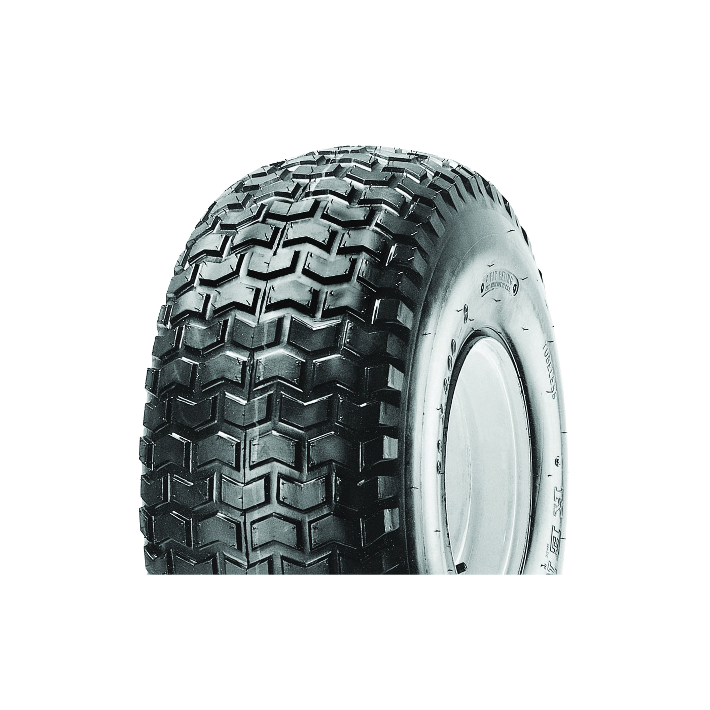 Picture of MARTIN WHEEL 858-2TR-I Turf Rider Tire, Tubeless, For: 8 x 7 in Rim Lawnmowers and Tractors