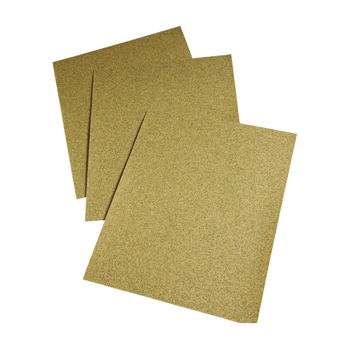 Picture of 3M 02115 Sanding Sheet, 11 in L, 9 in W, Medium, 80 Grit, Aluminum Oxide Abrasive, Paper Backing