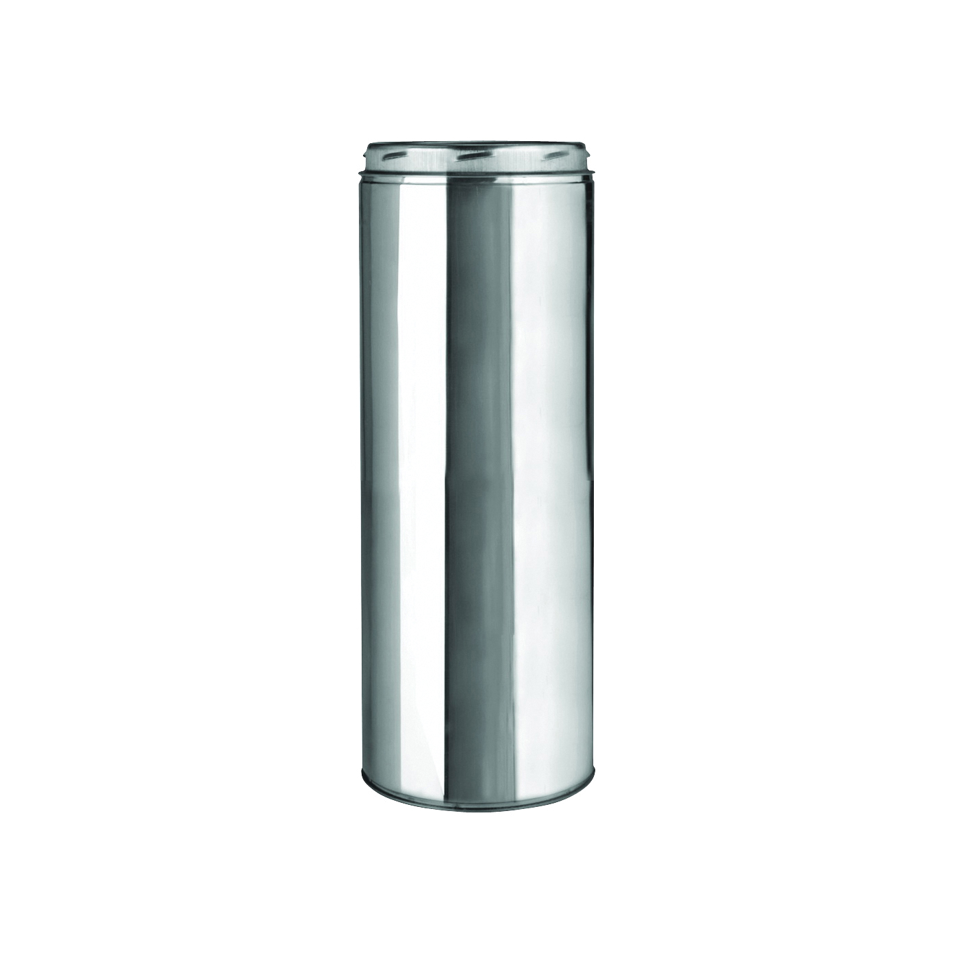 Picture of SELKIRK 206018 Chimney Pipe, 8 in OD, 18 in L, Stainless Steel