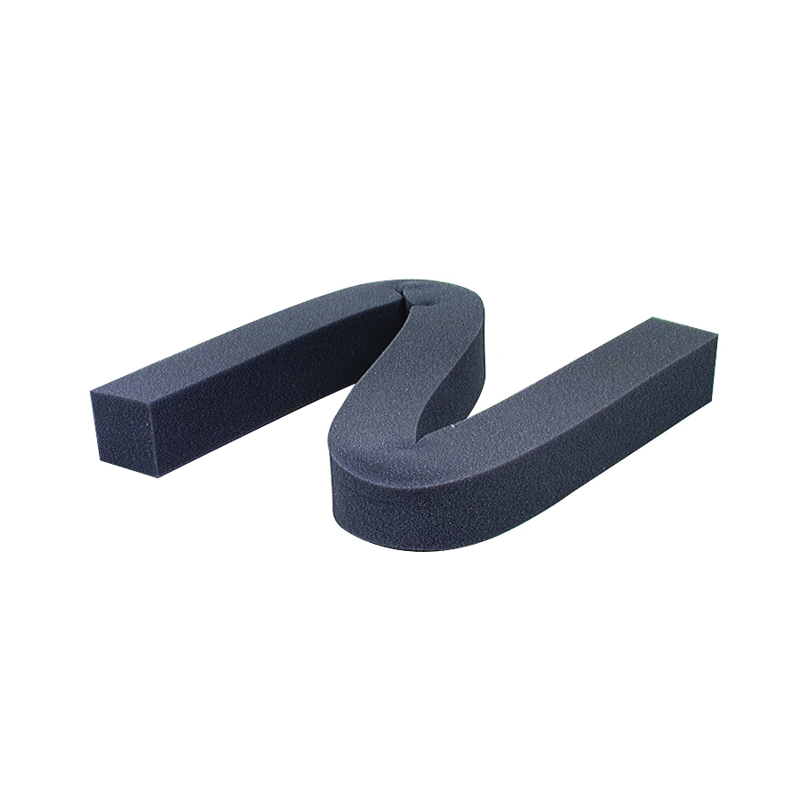 Picture of M-D 02006 Weatherstrip, 1-1/4 in W, 1-1/4 in Thick, 42 in L, Foam, Gray
