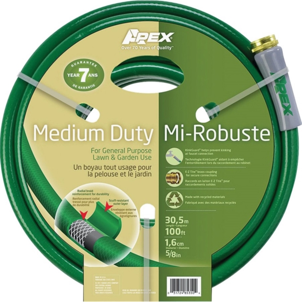 Picture of Apex 8535-100 Garden Hose, 100 ft L