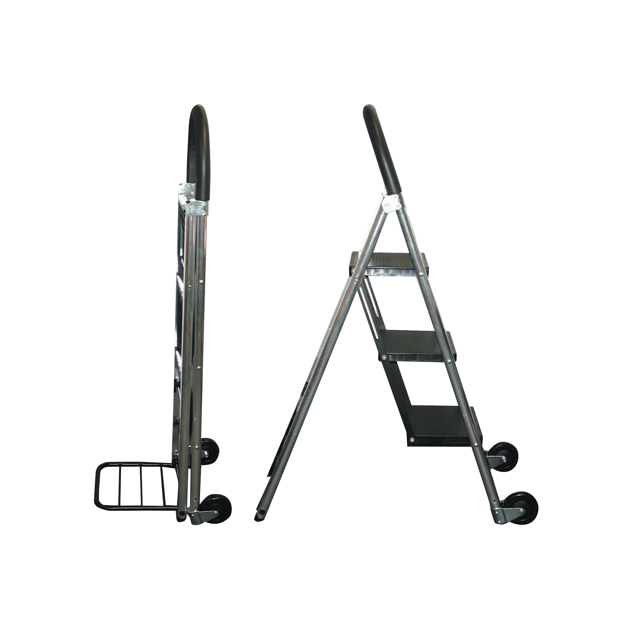 Picture of CONAIR TS32LHT Step Ladder/Hand Cart, 175 lb Hand Cart, 250 lb Stepladder, 11 x 9 in Rung