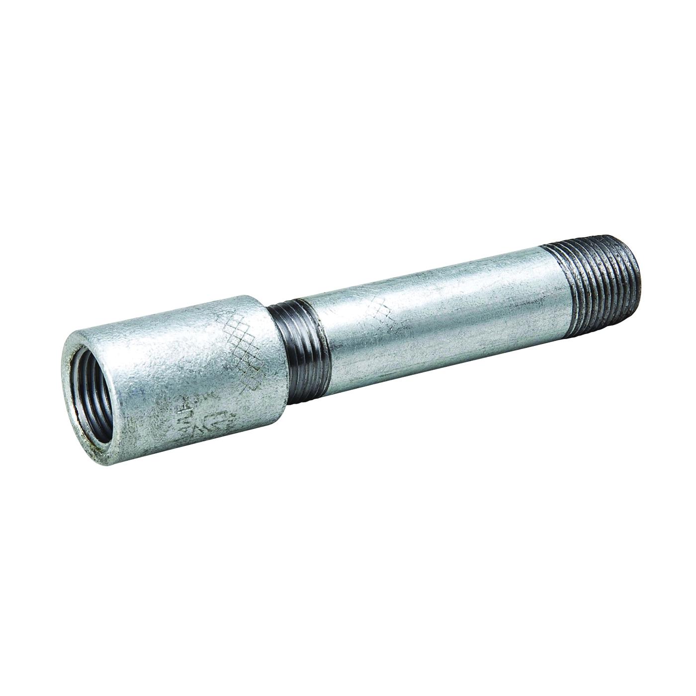 Picture of B & K 564-540HN Pipe Nipple, 3/4 in, Threaded, Galvanized Steel, 150 psi Pressure, 4 in L