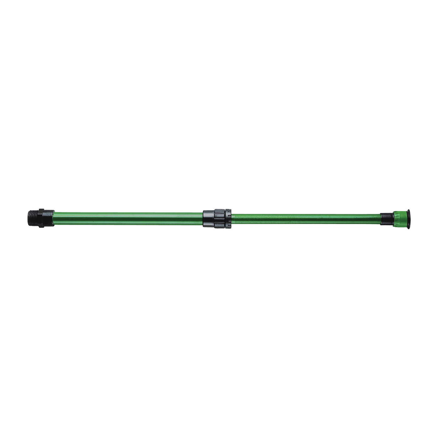 Picture of Orbit 37330 Shrub Riser with Adjustable Nozzle, 1/2 in Connection, MNPT, Aluminum, Green