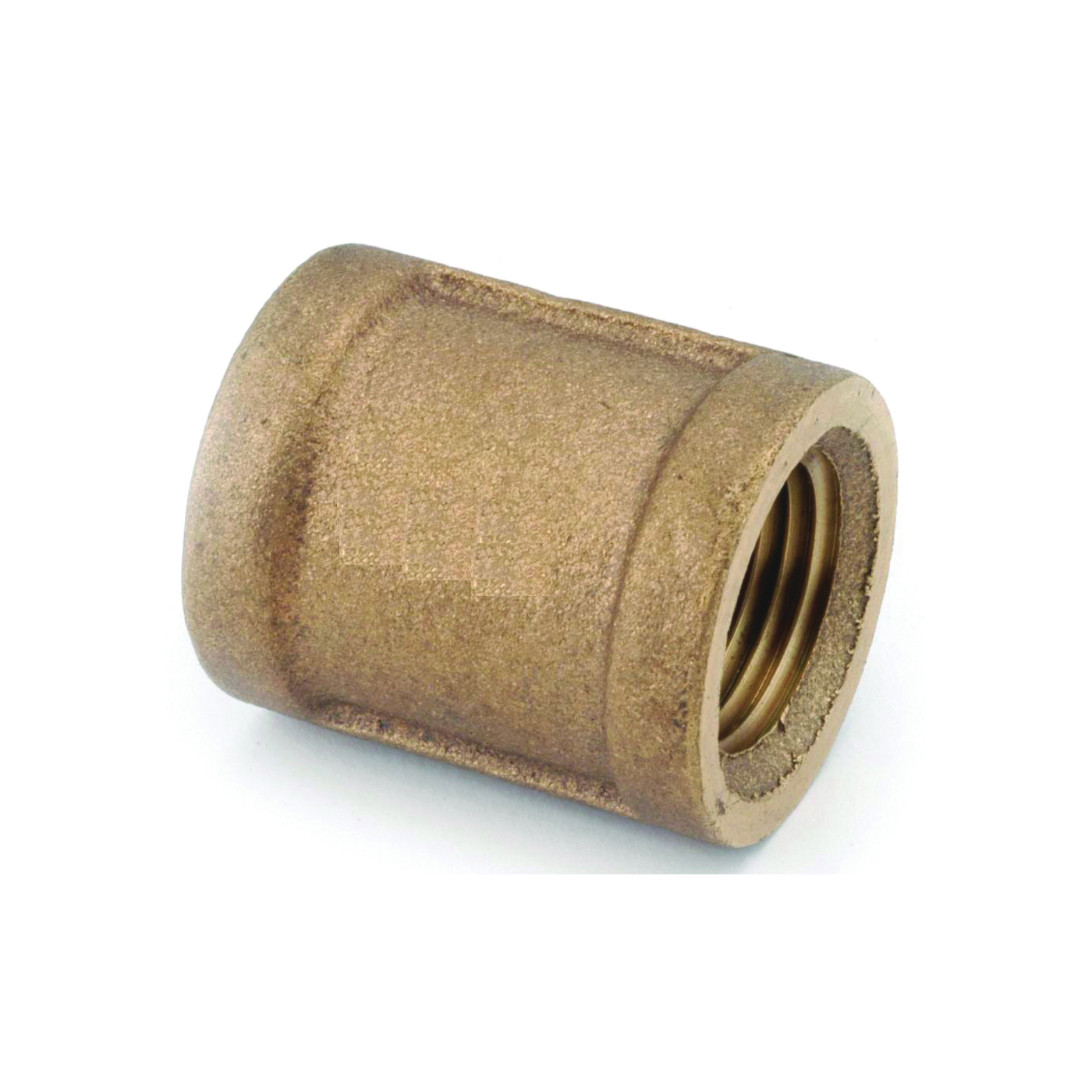 Picture of Anderson Metals 738103-06 Coupling, 3/8 in, FIPT, Brass