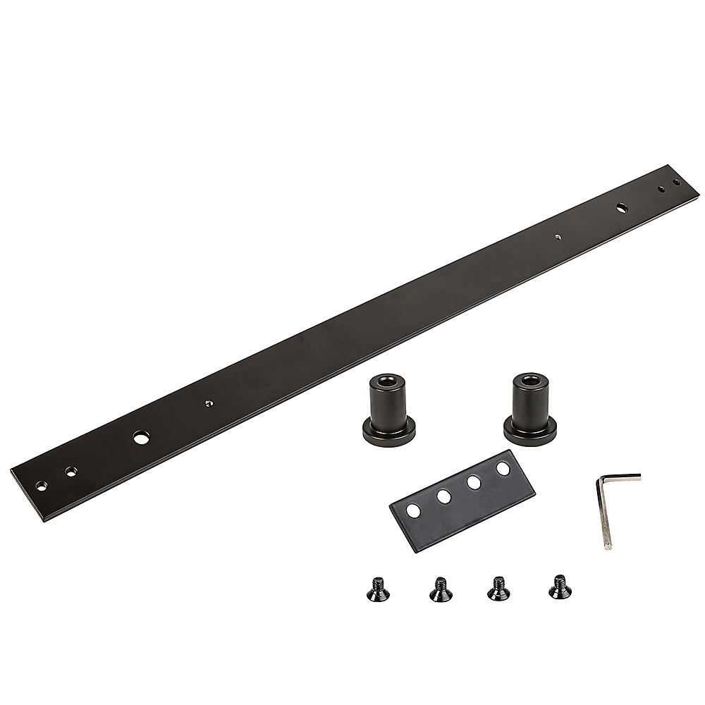 Picture of National Hardware N187-060 Track Extension Kit, 1-3/4 in Thick Door, Steel, Oil-Rubbed Bronze
