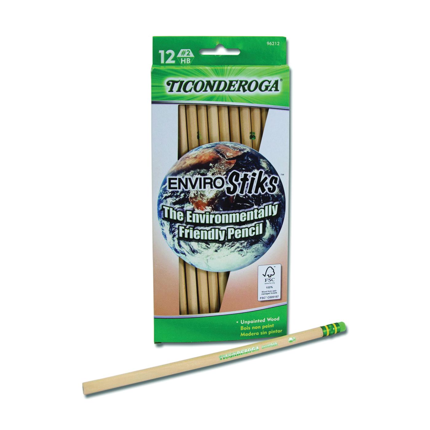 Picture of Ticonderoga 96212 Pencil, Natural Wood Barrel