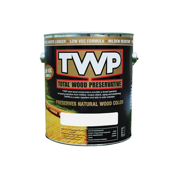 Picture of TWP 1500 Series TWP-1515-1 Stain and Wood Preservative, Honeytone, Liquid, 1 gal, Can