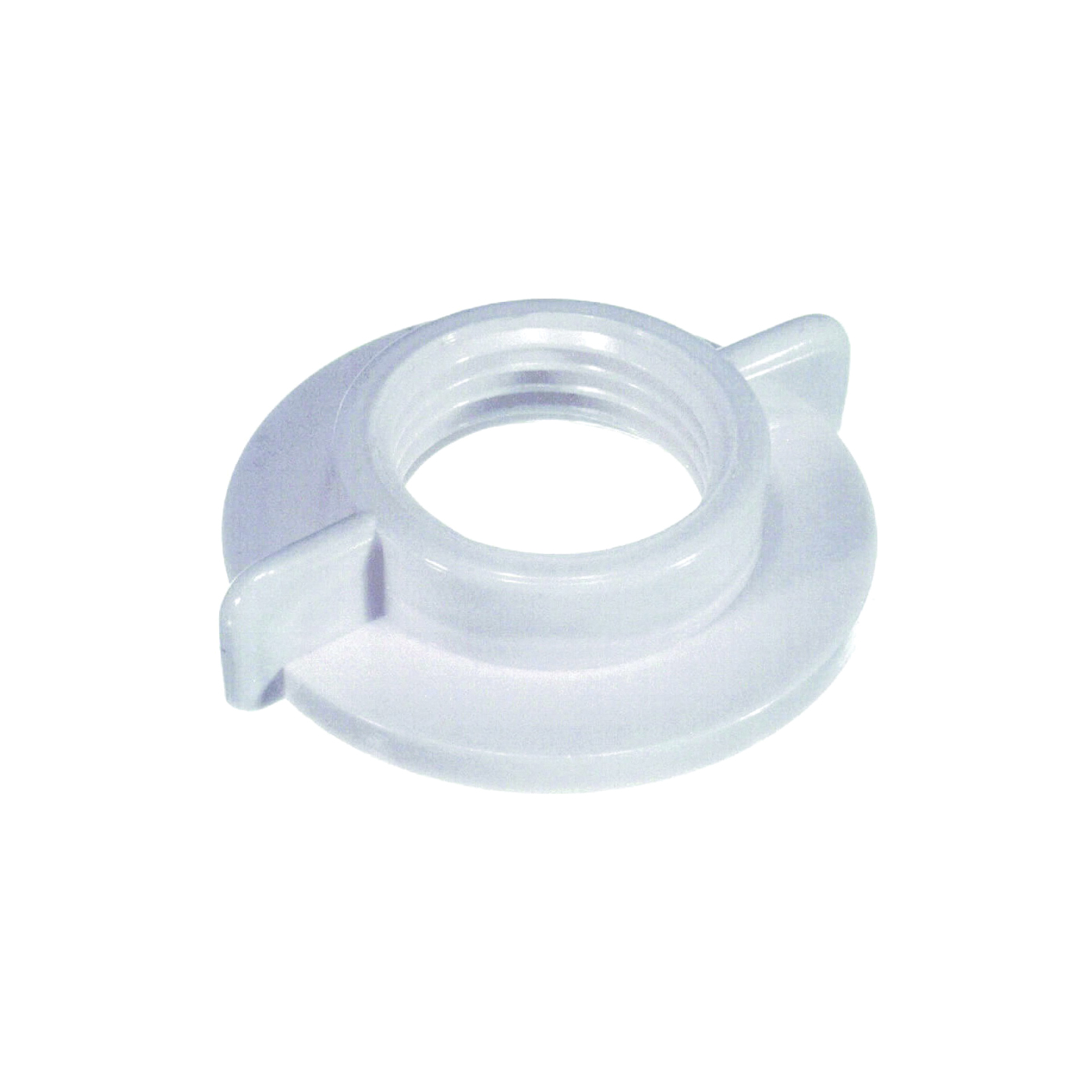 Picture of Danco 80990 Faucet Shank Locknut, Universal, Plastic, White, For: 1/2 in IPS Connections