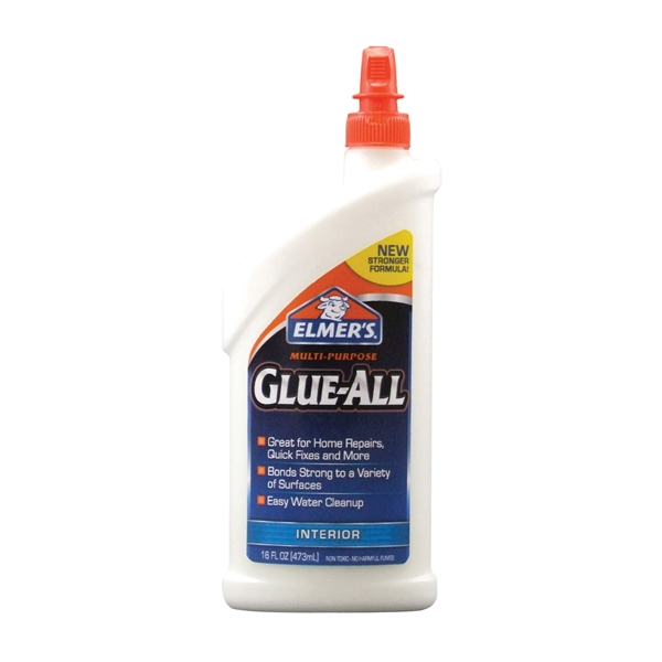 Picture of Elmers E3830 Glue, White, 16 oz Package, Squeeze Bottle