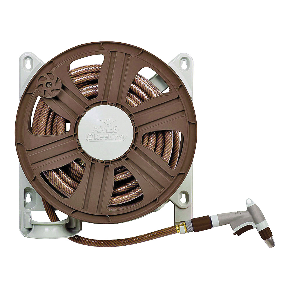 Picture of AMES 2388340 Hose Reel, 5/8 in Hose, 100 ft of 5/8 in Hose, Poly
