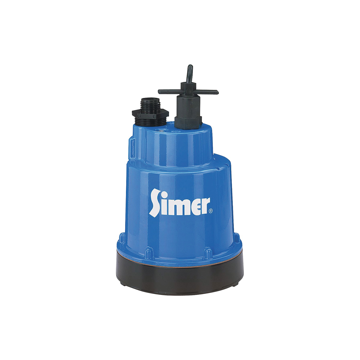 Picture of Sta-Rite Simer Geyser 2300 Utility Pump, 1-Phase, 5.6 A, 115 V, 0.25 hp, 1-1/4 in Outlet, 1320 gph, Aluminum