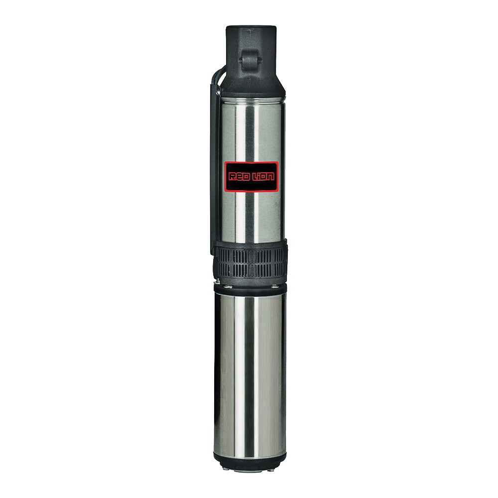 Picture of Red Lion 14942401 Well Pump, 12 A, 115 V, 0.5 hp, 1-1/4 in Connection, 231 ft Max Head, 12 gpm, Stainless Steel