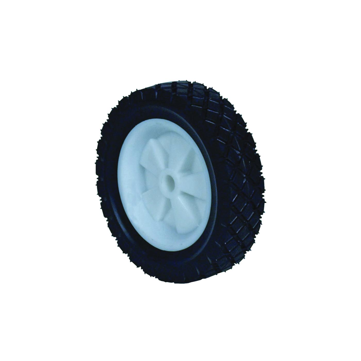 Picture of MARTIN WHEEL 615P-OF Lawn Mower Wheel, Semi-Pneumatic, Universal, Plastic/Rubber