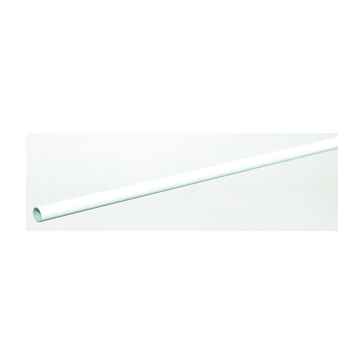 Picture of ClosetMaid 205700 Closet Rod, 30 ft-lb, 5/8 in Dia, 48 in L, Steel, White