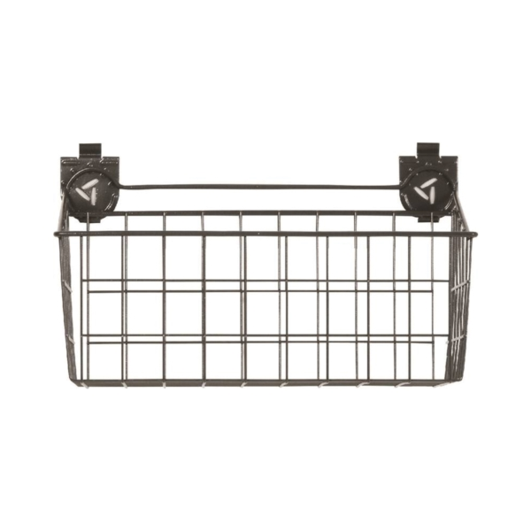 Picture of GLADIATOR GAWU18BKBH Wire Basket, 35 lb Capacity, Steel, Graphite