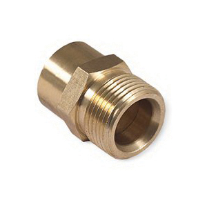 Picture of Mi-T-M AW-0023-0494 Screw Nipple, 3/8 in Connection, FNPT x M22