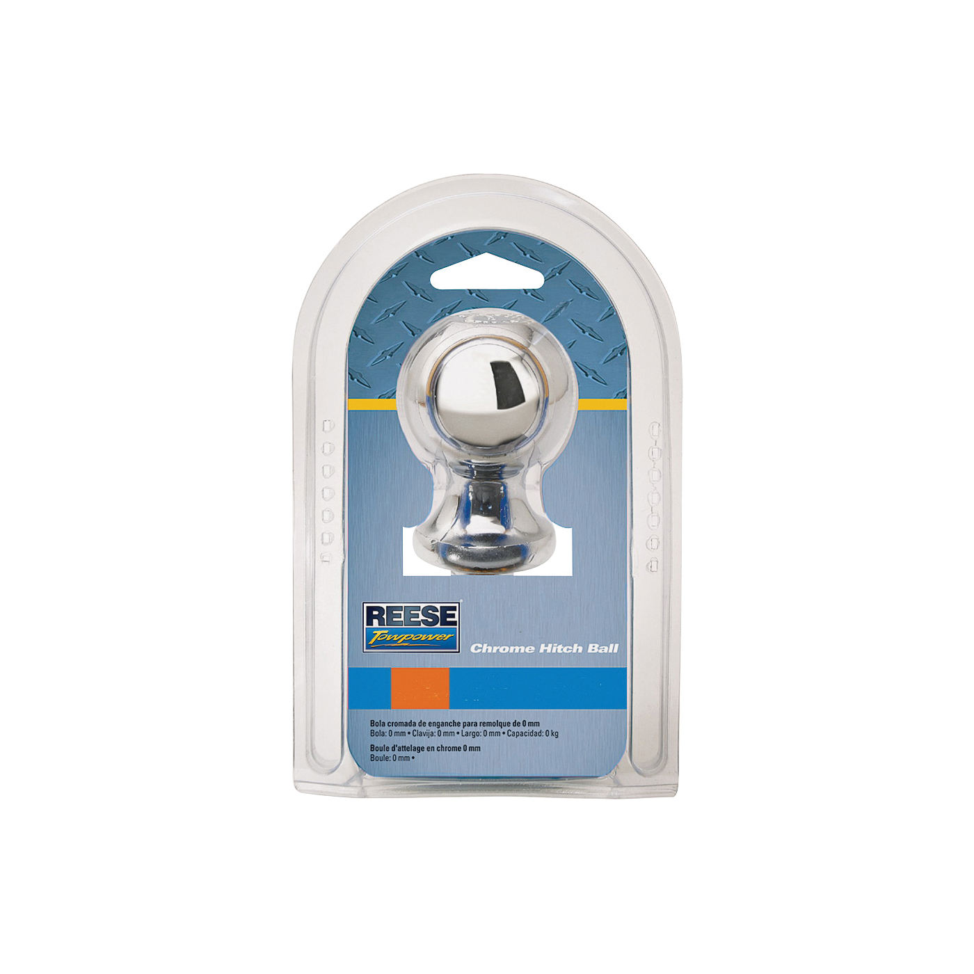 Picture of REESE TOWPOWER 74294 Hitch Ball, 2-5/16 in Dia Ball, 1-1/4 in Dia Shank, 12,000 lb Gross Towing, Steel