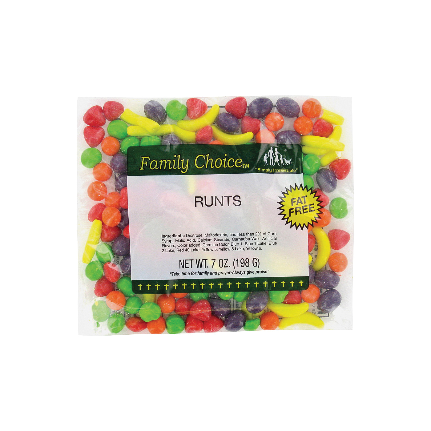 Picture of Family Choice 1157 Candy, 7 oz Package